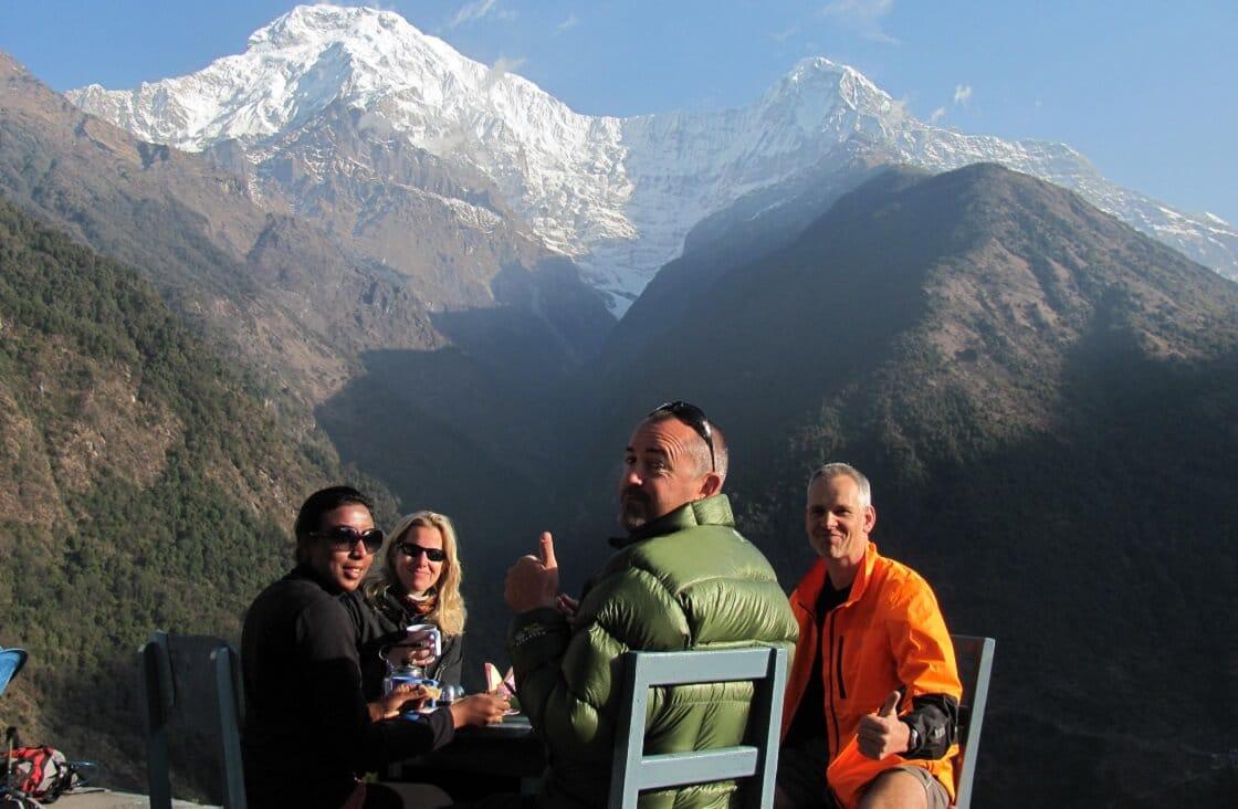 The Annapurna Base Camp Trek Itinerary