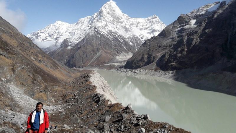 Rolwaling Via Tashi Labtse Pass